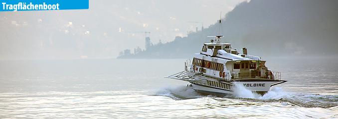 Schifffahrt am Comer See