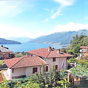 Das Bild zeigt eine günstige Ferienwohnung, Comer See.