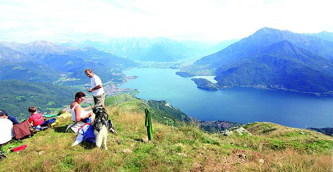 Klettersteig Comer See : Wandern am comer see u lago di como